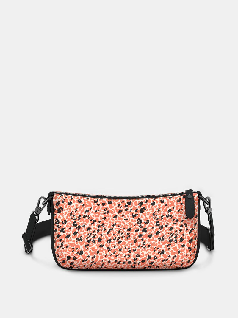 shoulder strap baguette bag