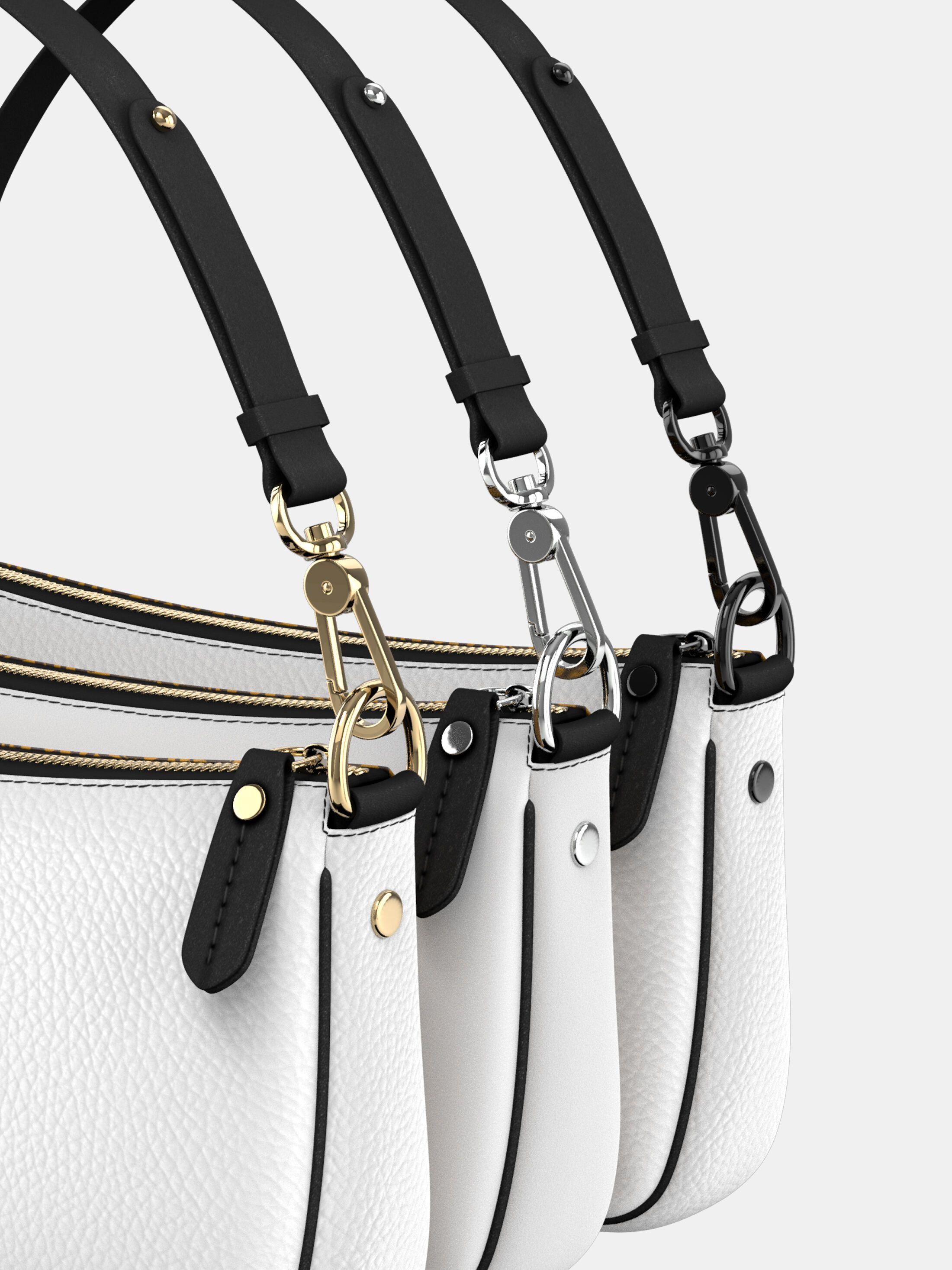 details gepersonaliseerde baguette bag