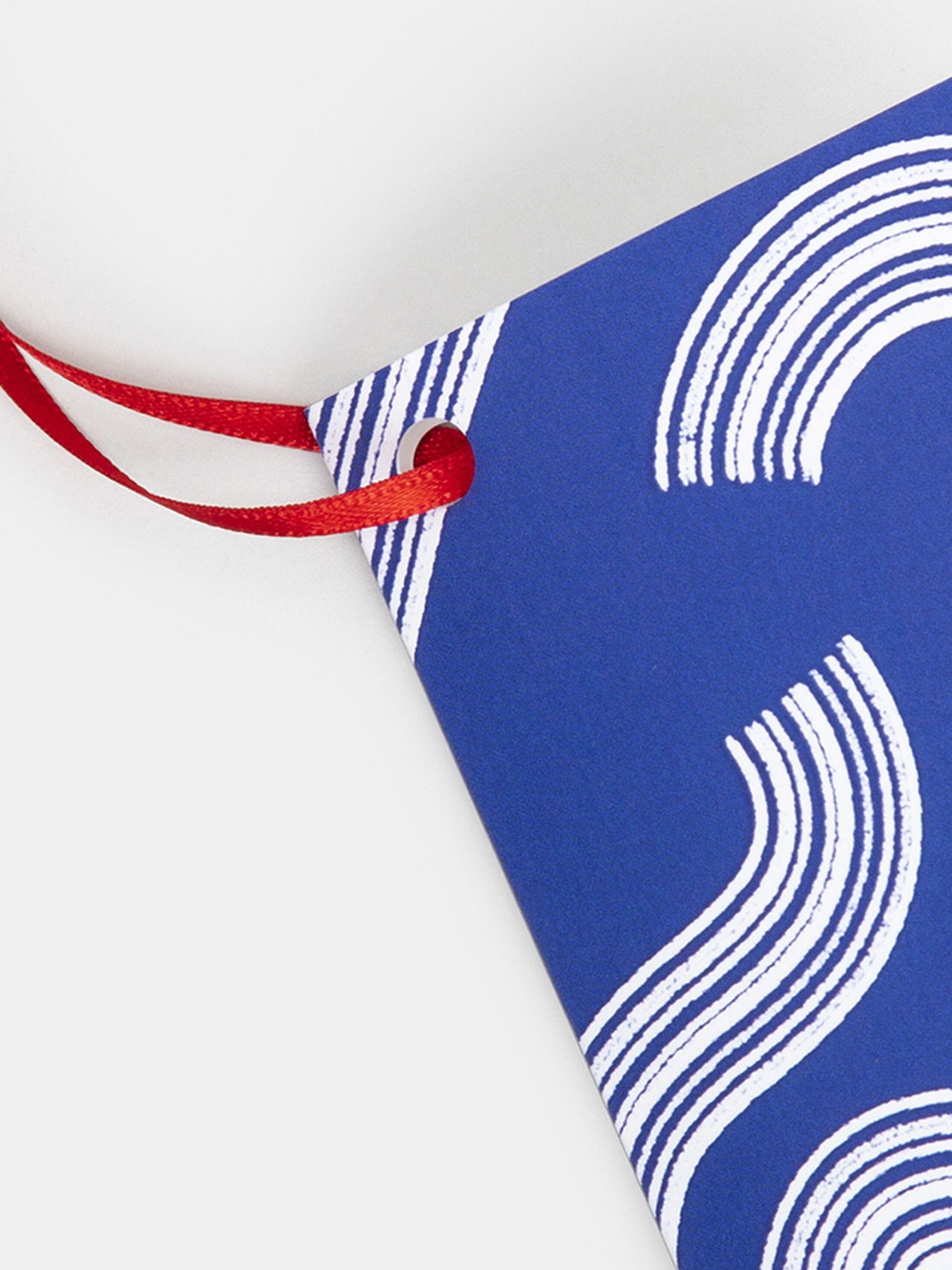 Folded Tags Printed