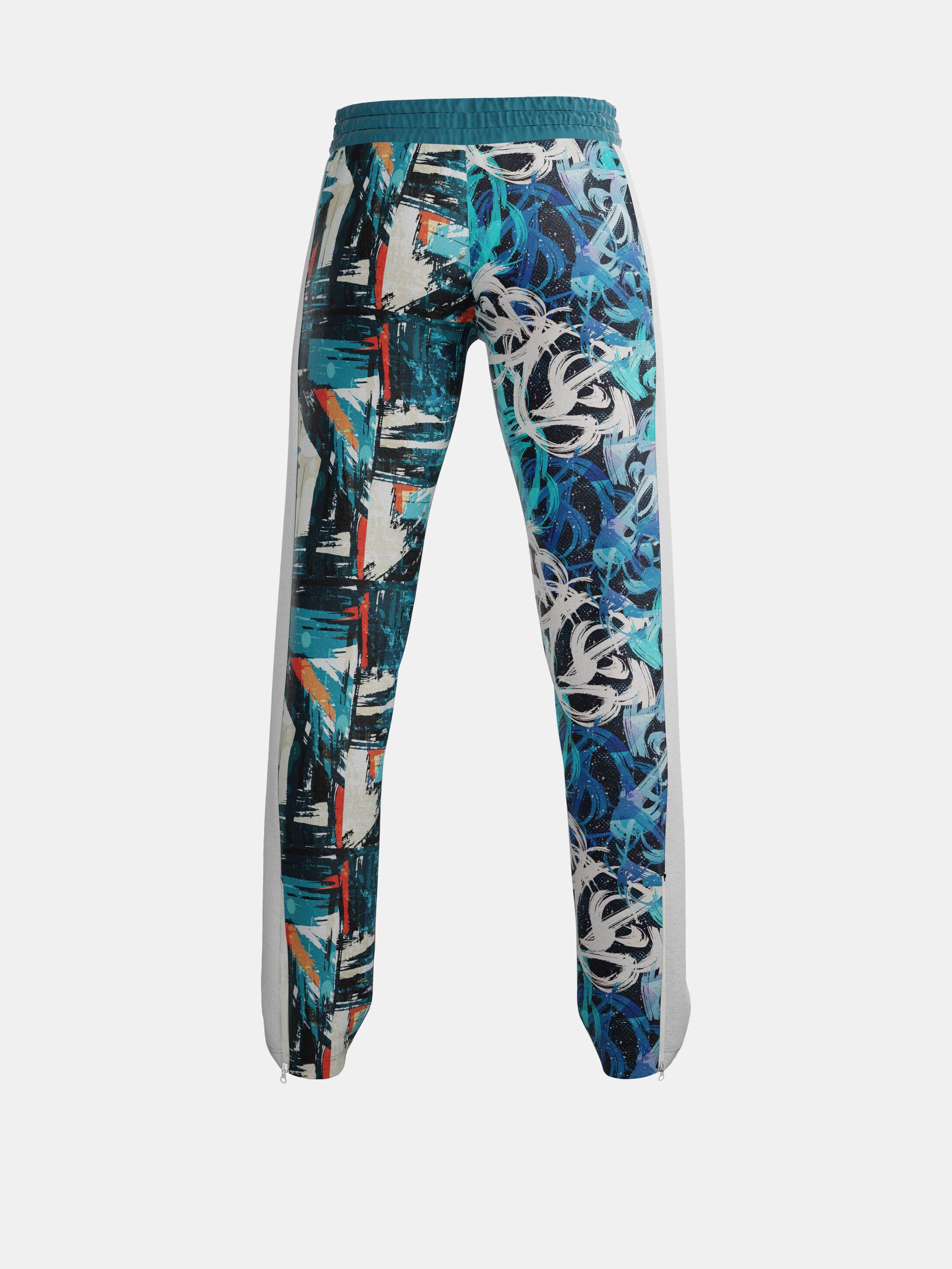 Custom Jogging Jacket & Pants back view