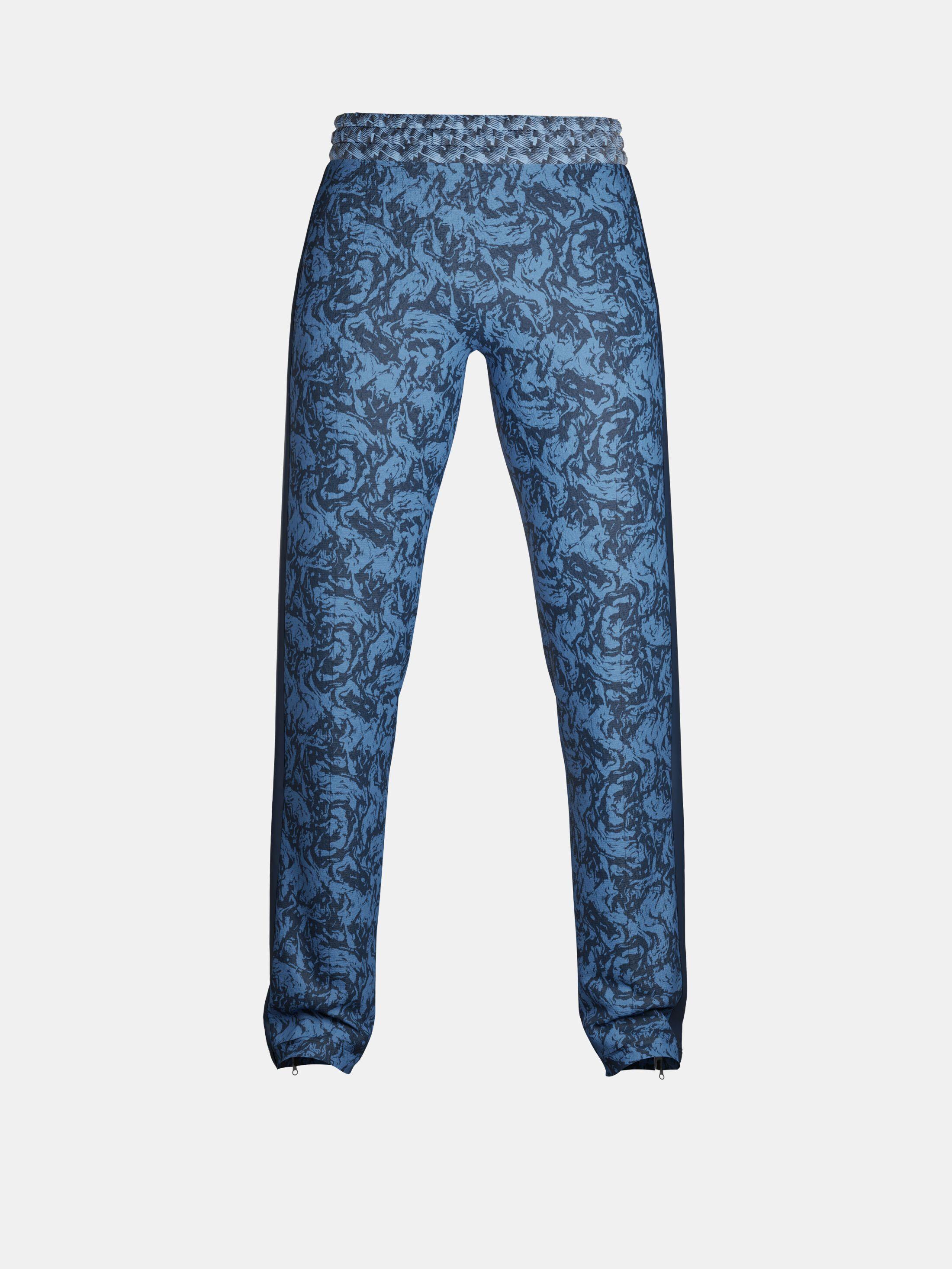stampa giacca e pantaloni tuta