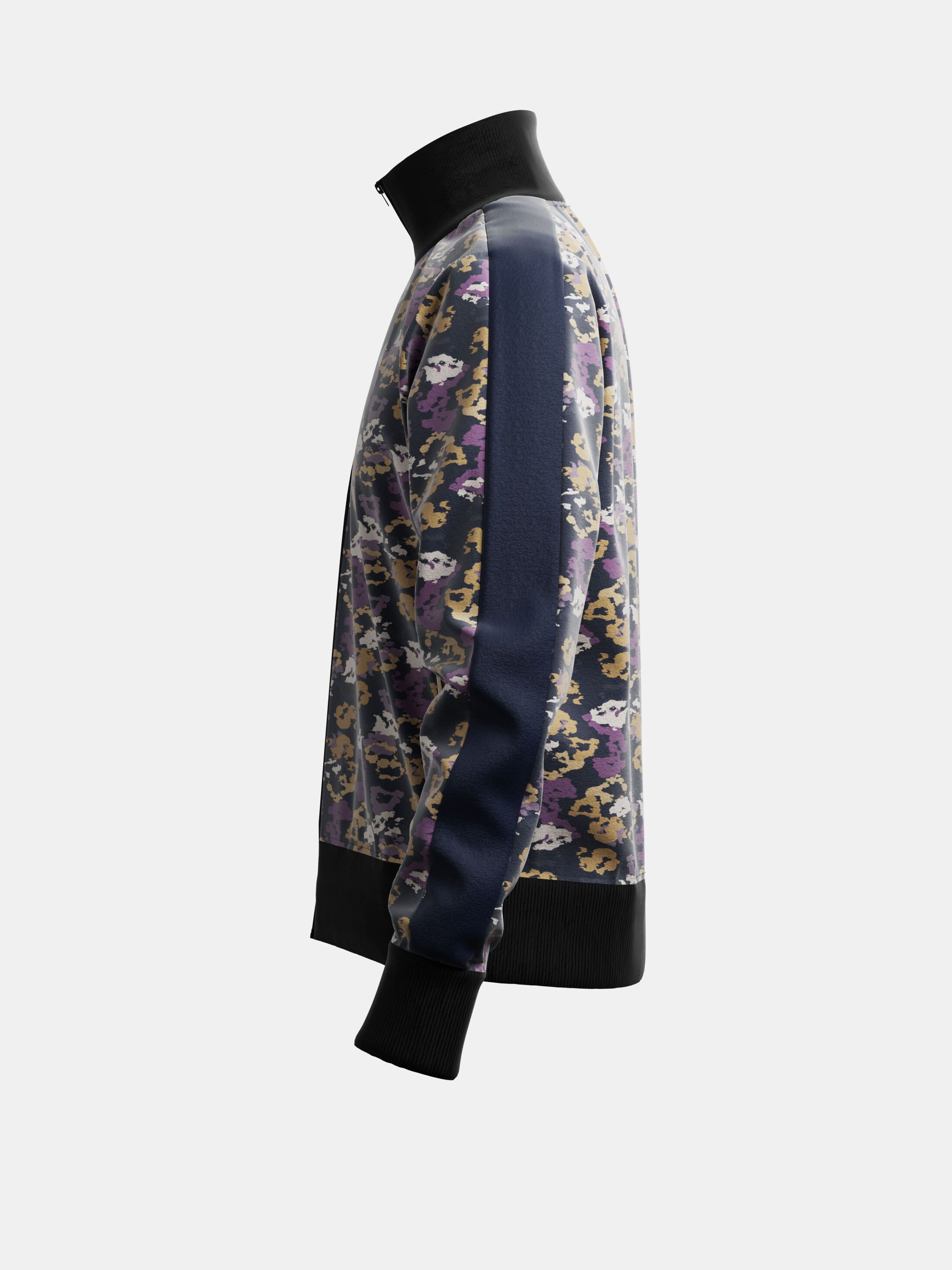 Custom Jogging Jacket & Pants side