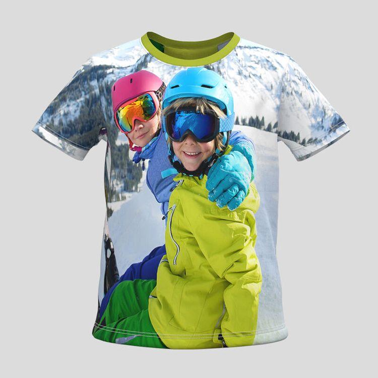 kinder t-shirt mit foto bedrucken