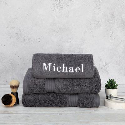 Asciugamani con ricamo personalizzato Embroidered Towel