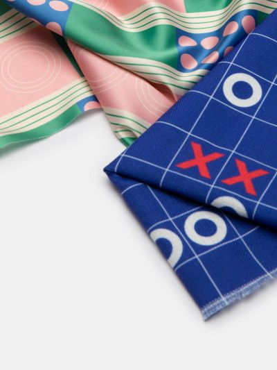 stampa campione di tessuto