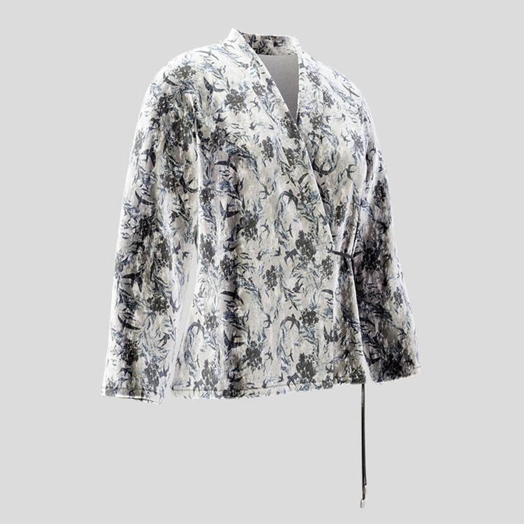 chaqueta cruzada wrap personalizada