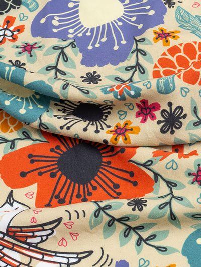 bamboo fabric pattern