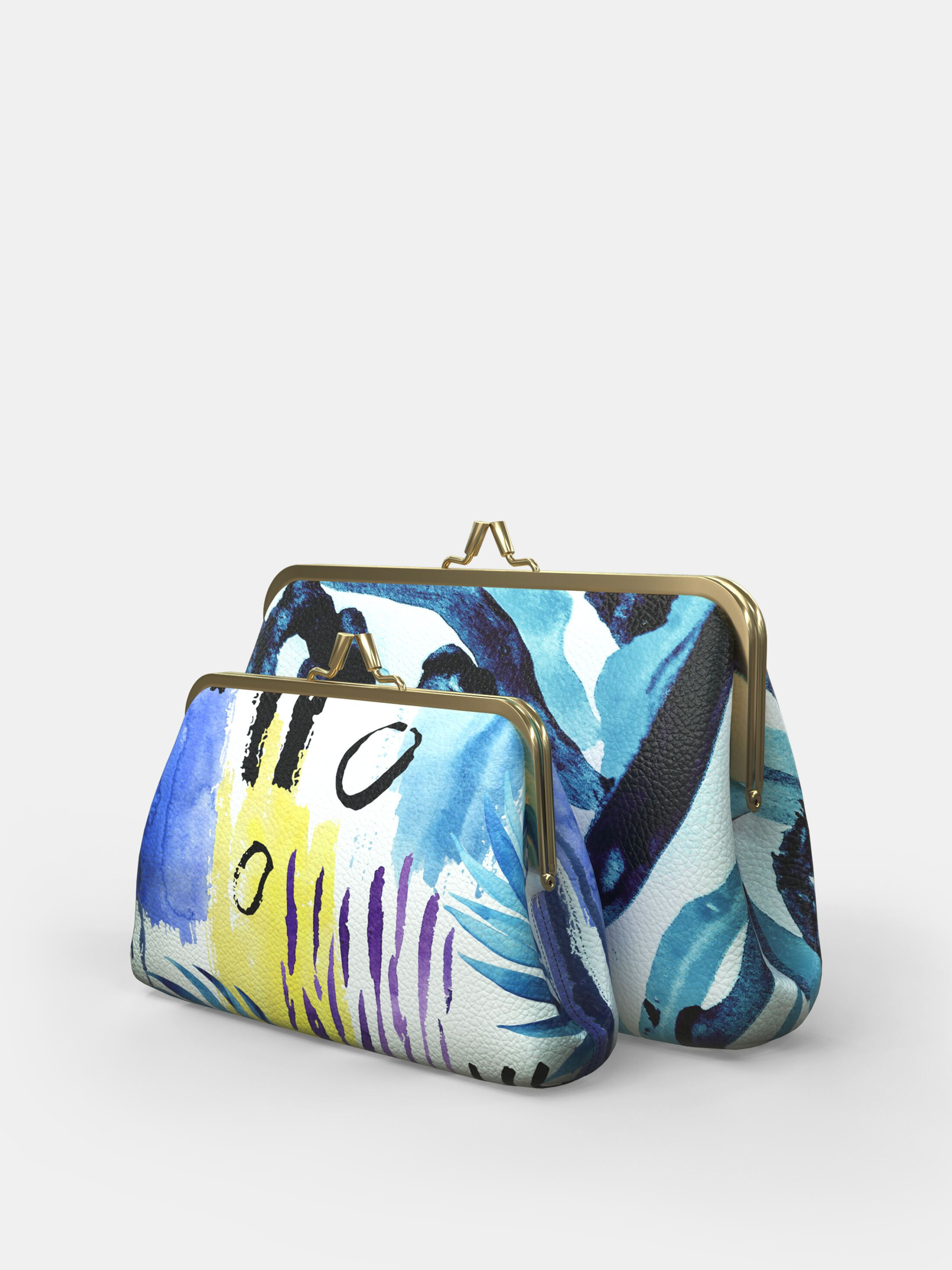 Custom metal frame bag sizes