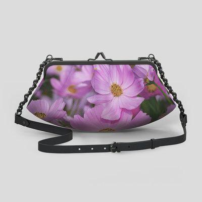 Personalized metal frame bag