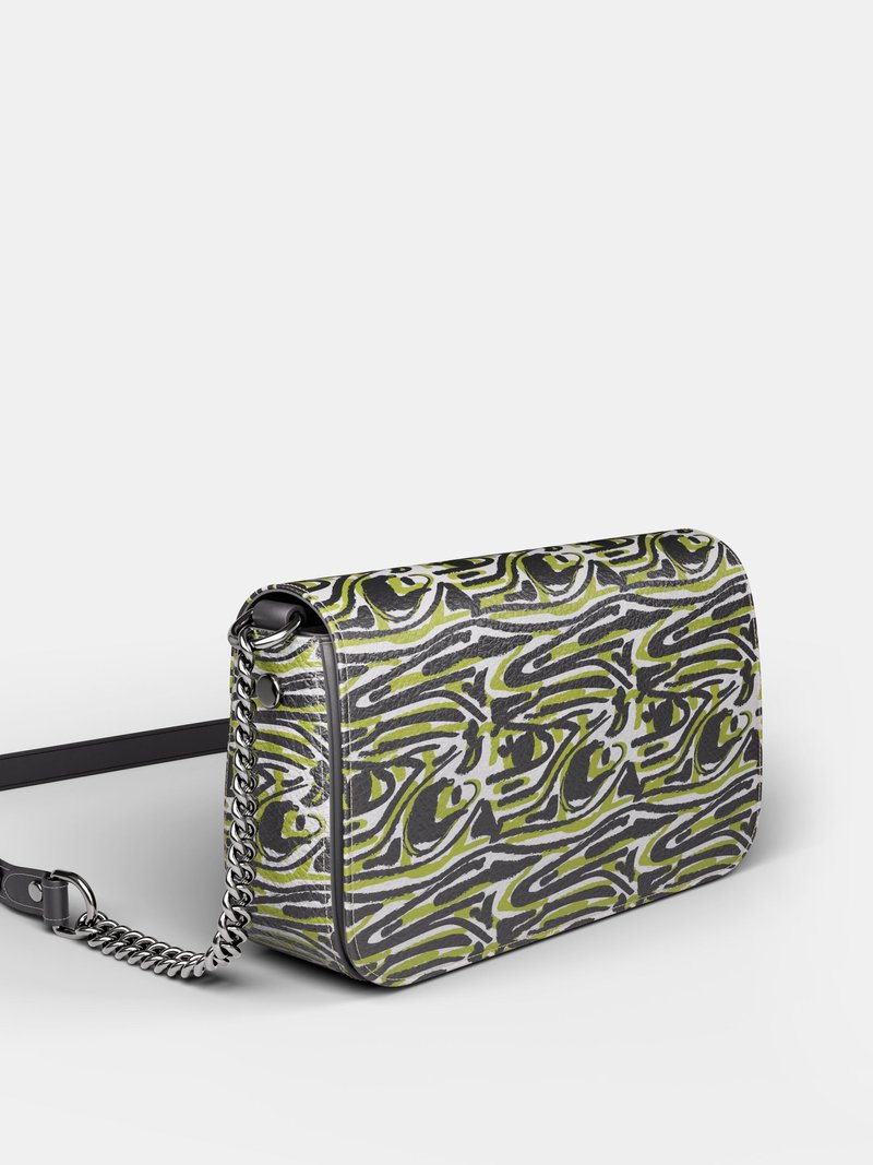 custom printed mini fold over bag