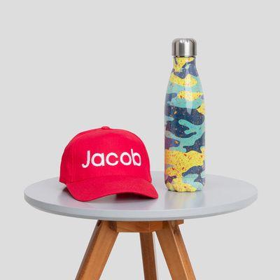 casquette pour enfant brodée
