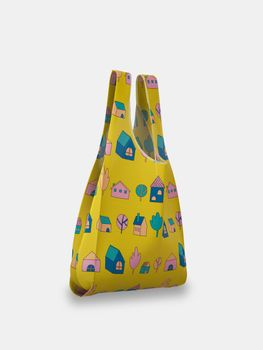 custom grocery bag