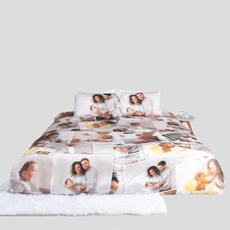 Personalised Silk Duvet Cover