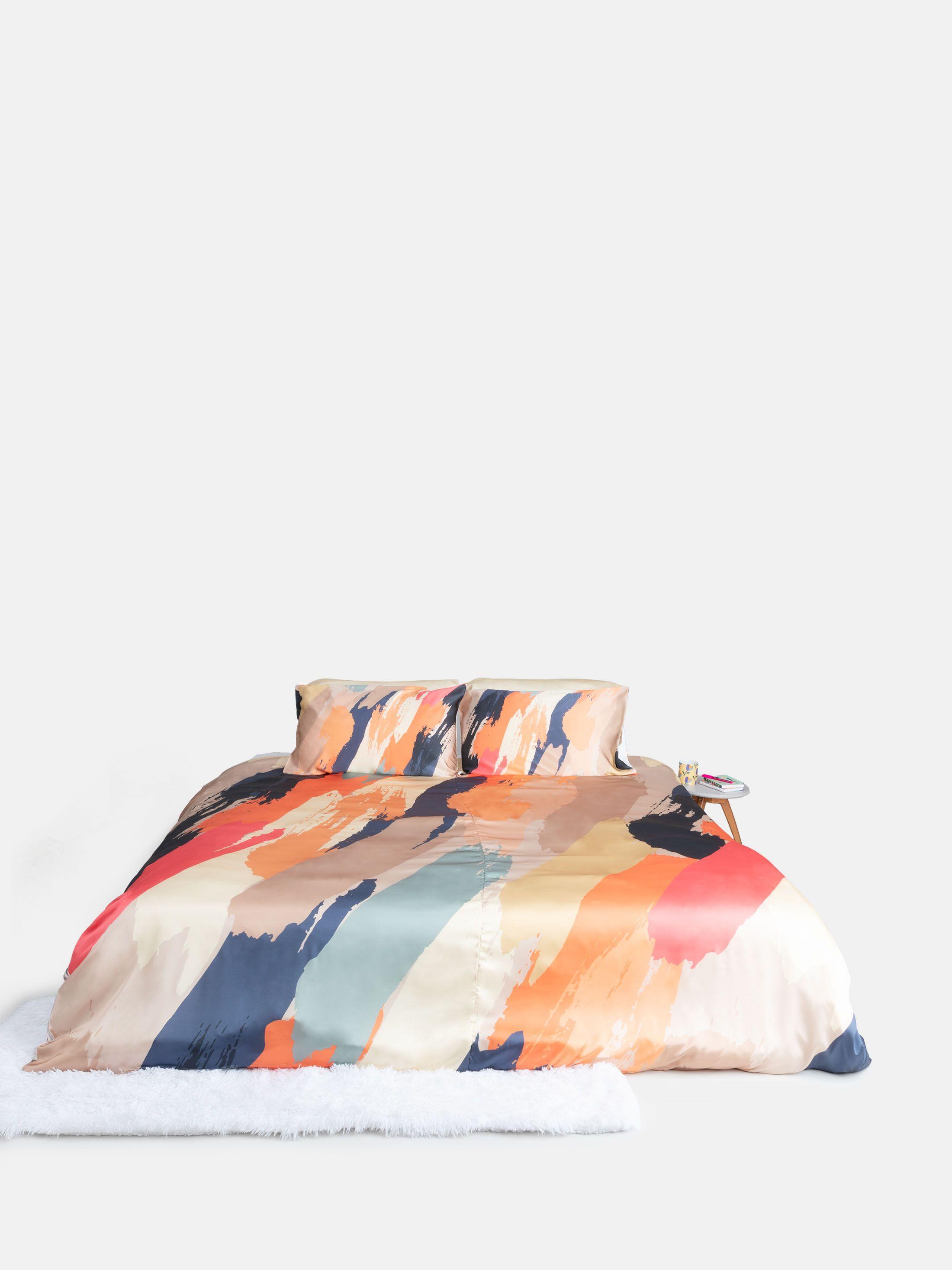 Custom Silk Duvet Cover