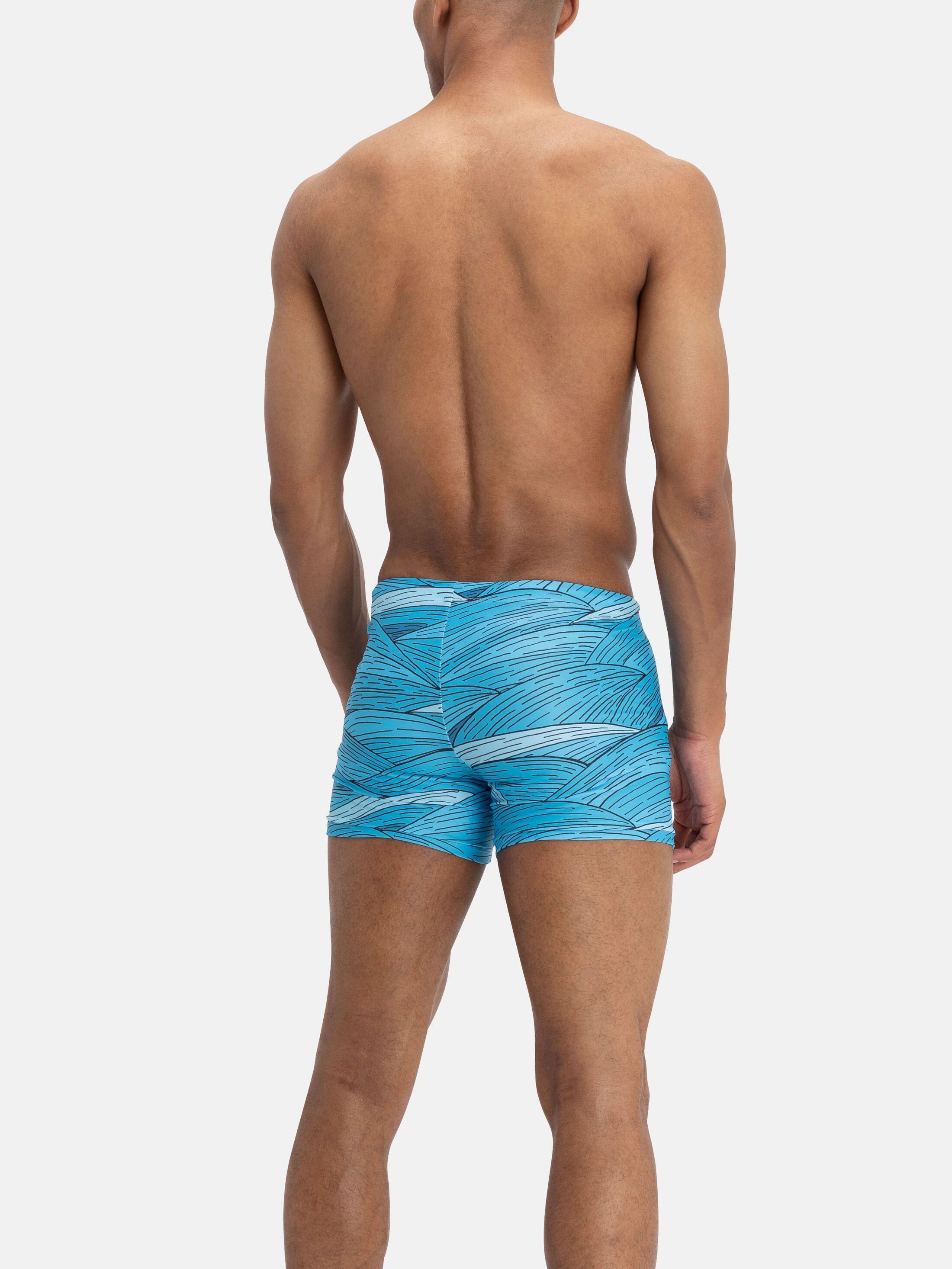 personalised swimming trunks