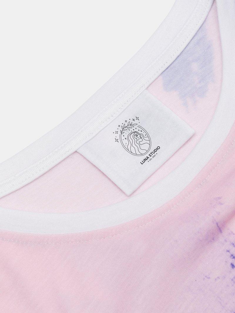 stampa su etichetta abbigliamento uomo personalizzato