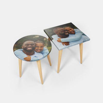 custom made side tables