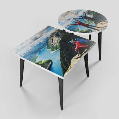 コーヒーテーブル デザインプリント