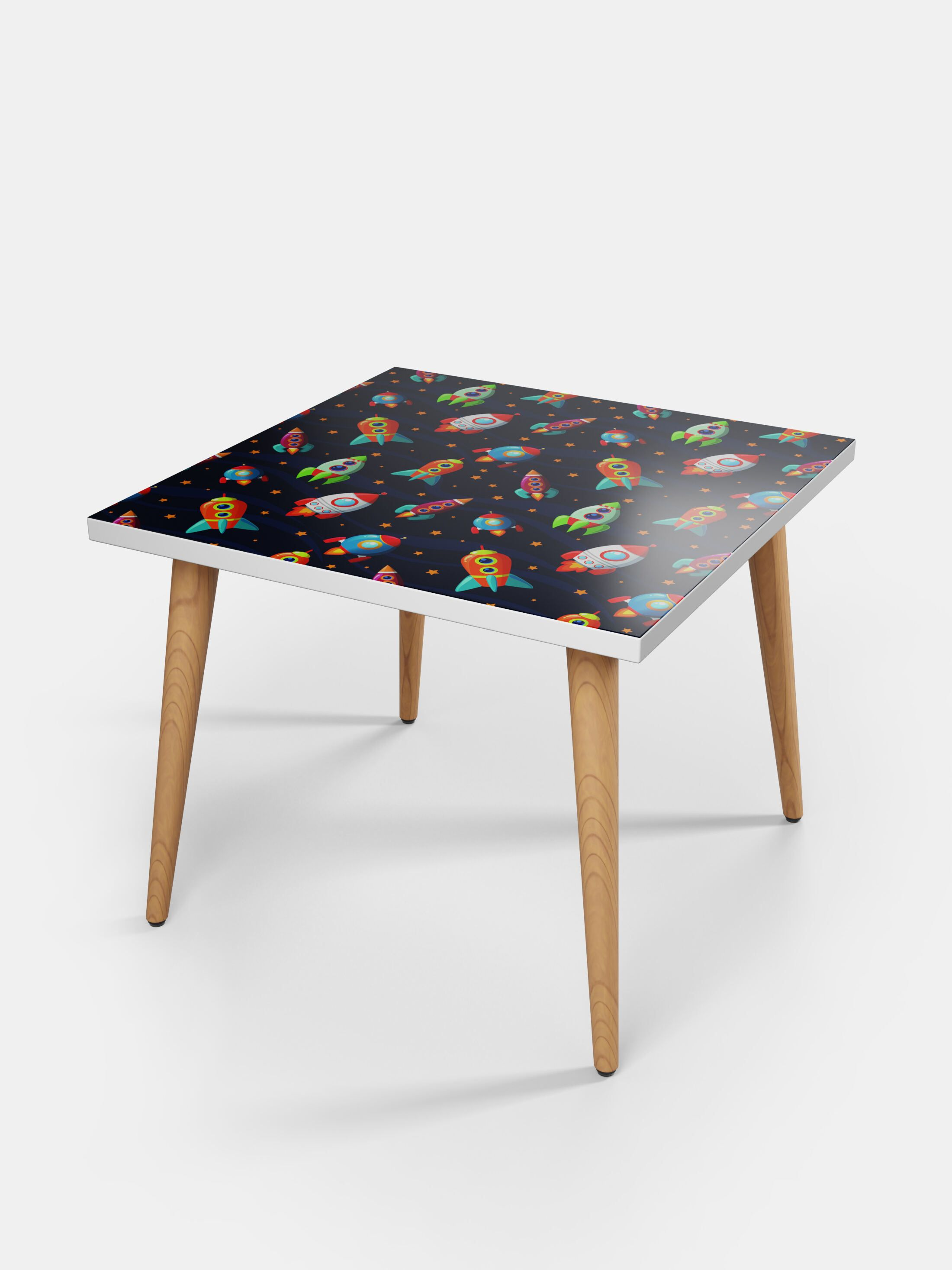 printed coffee table