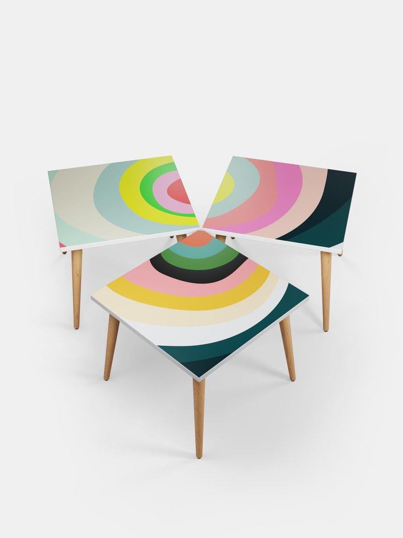 table basse avec photo