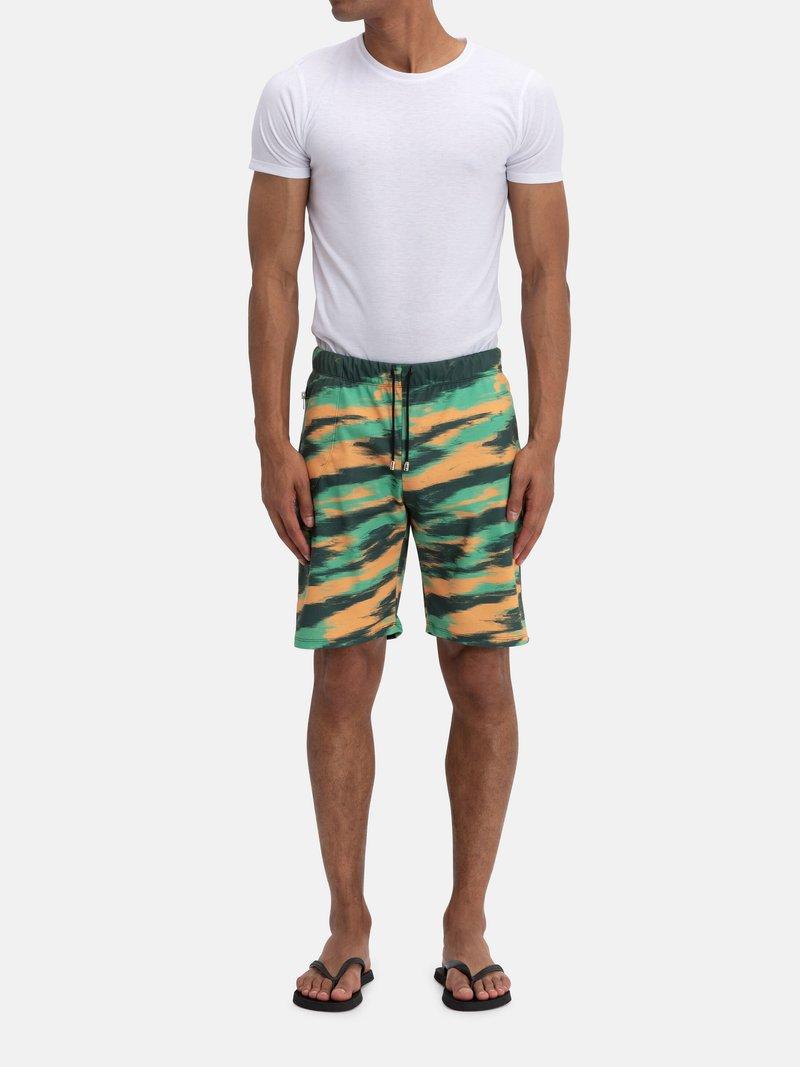 men's custom printed shorts