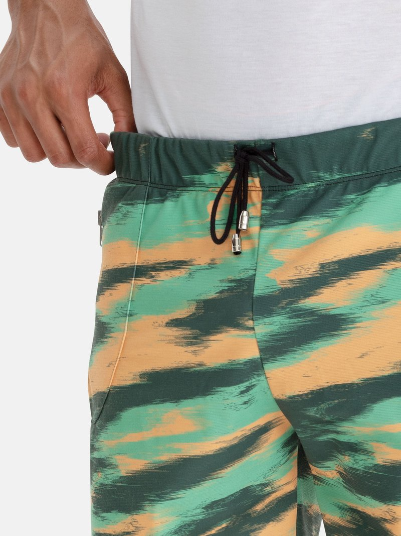 custom printed gym shorts