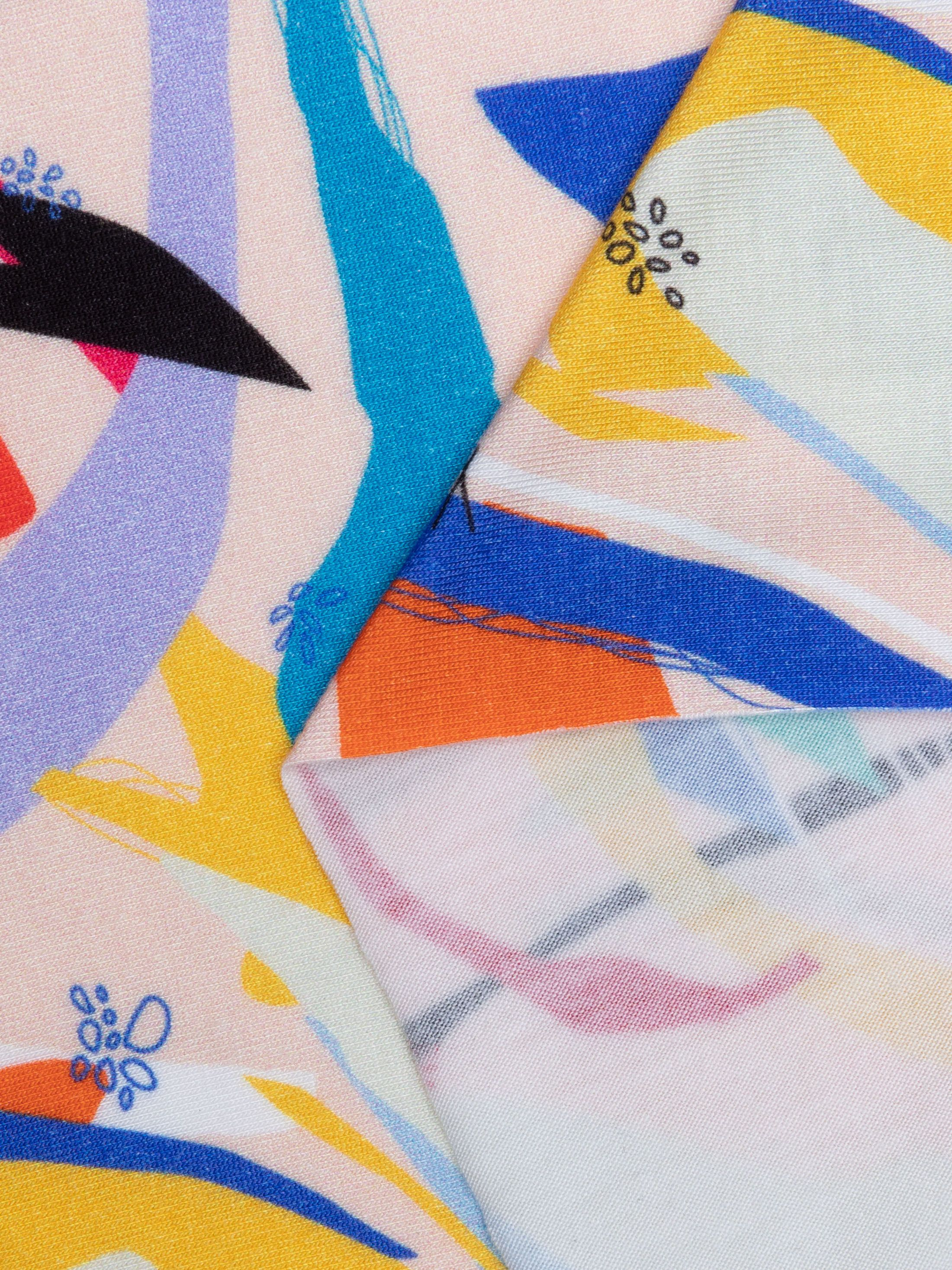 Printed Viscose Jersey Fabric
