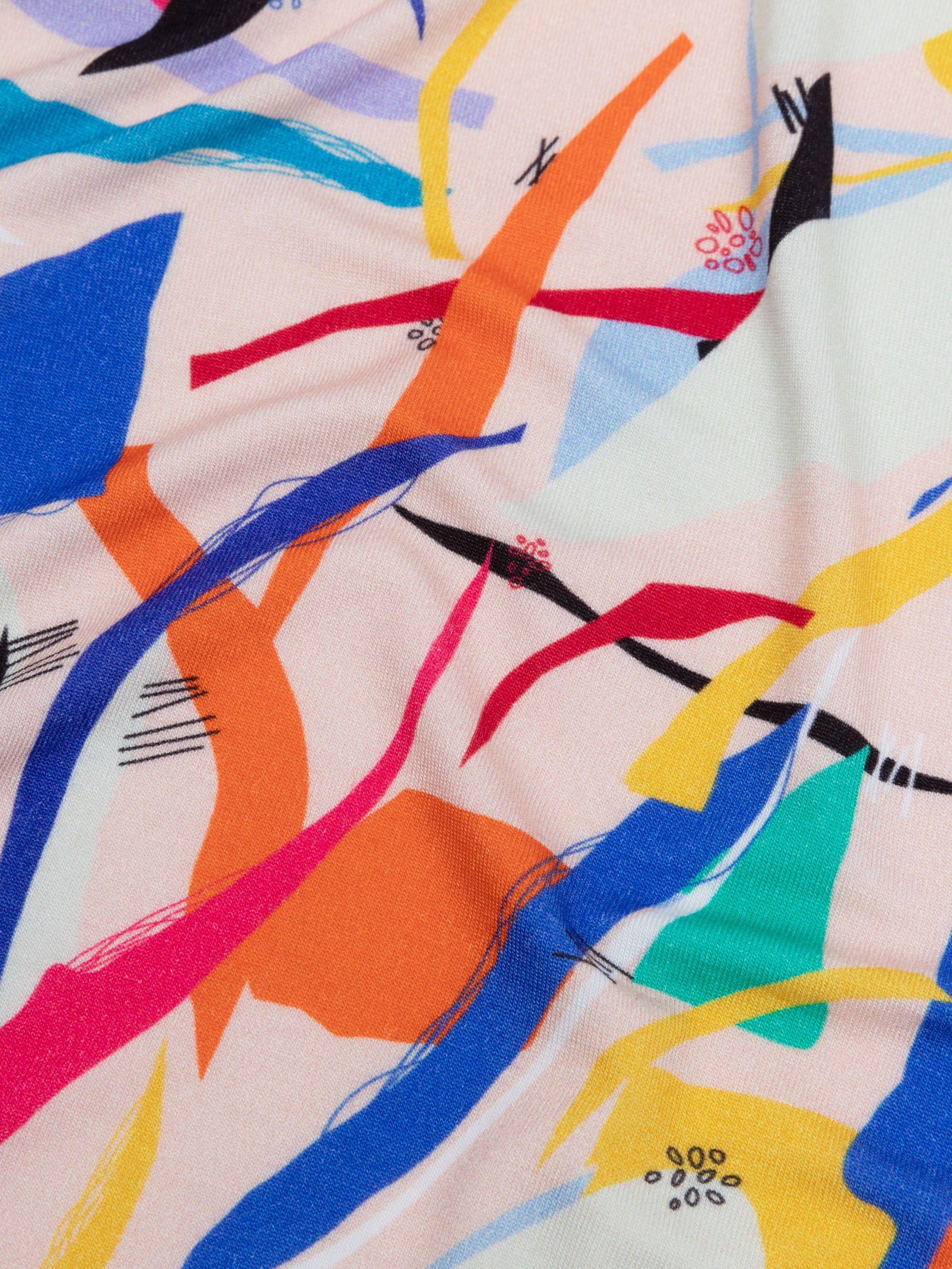 Custom viscose jersey fabric