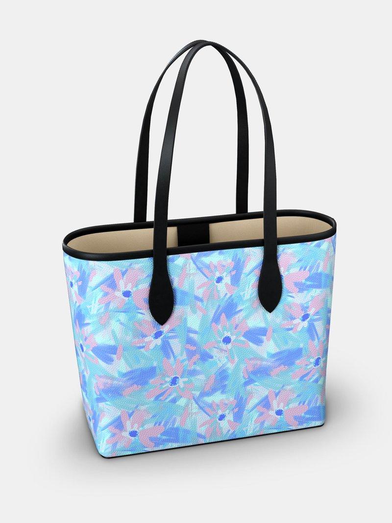 custom printed city tote bag