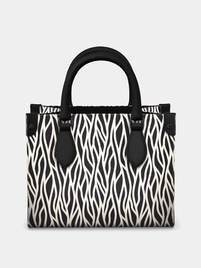 Custom Mini Shopper Bag print