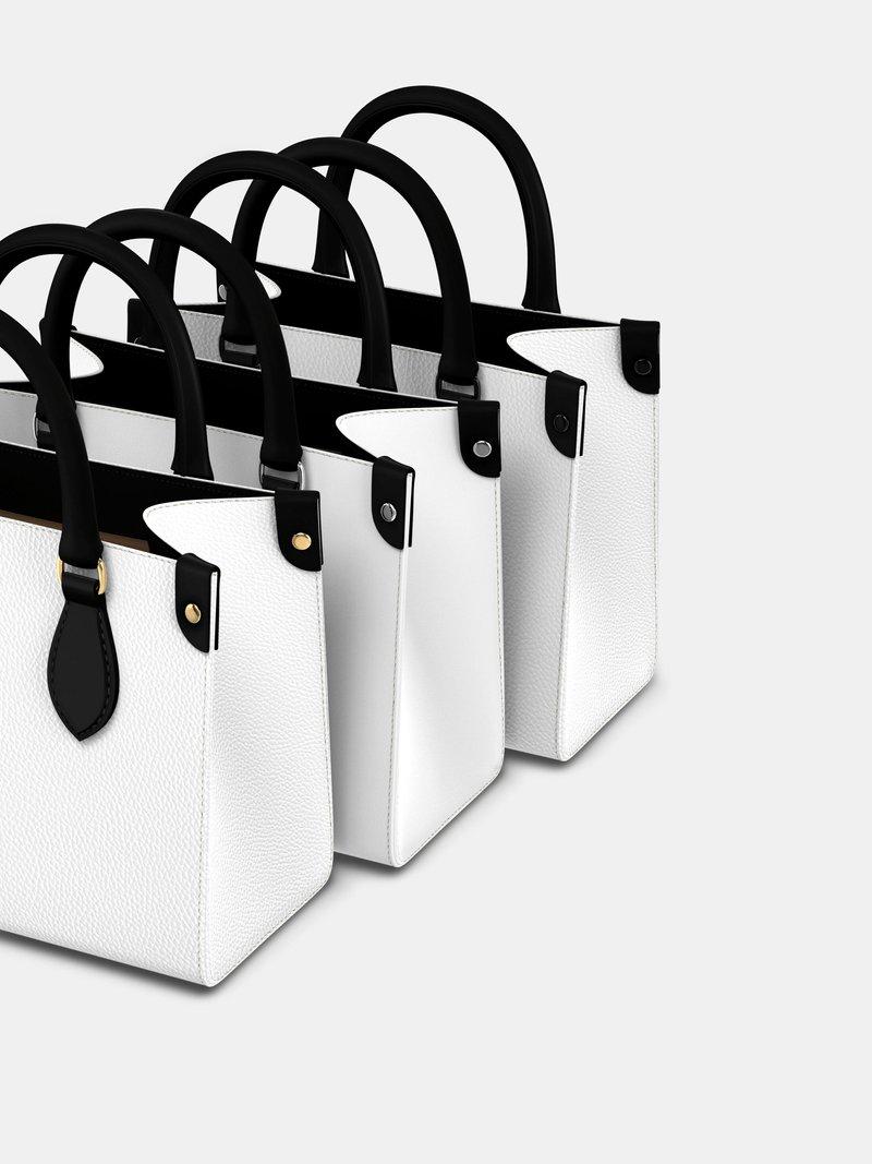 Custom Mini Shopper Bag details