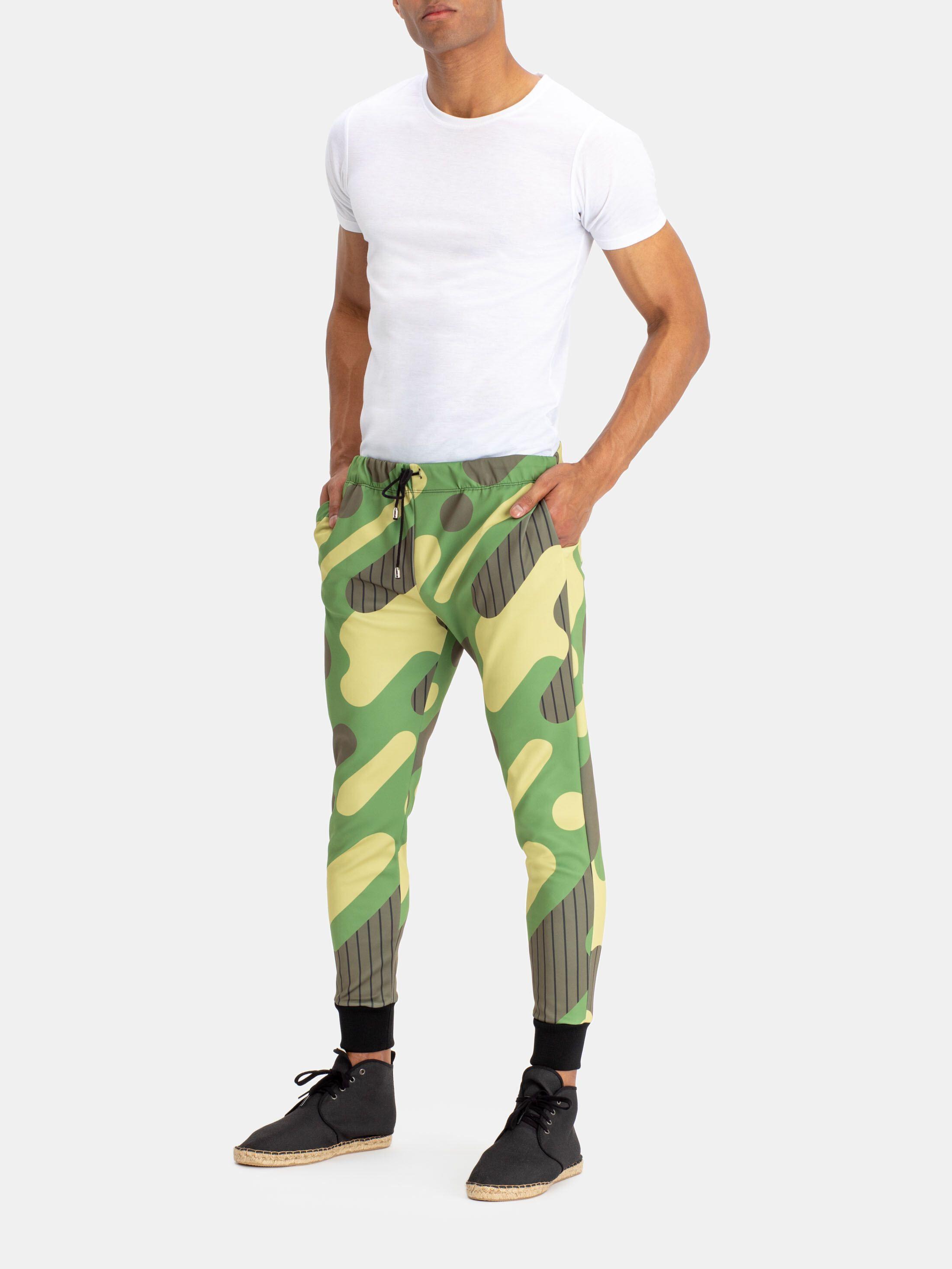 Jogging pour homme avec design coloré