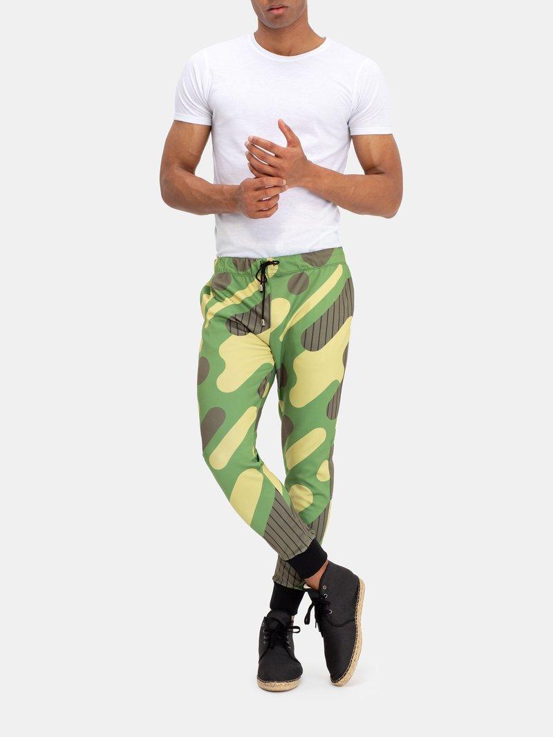 Verso du pantalon de jogging avec design