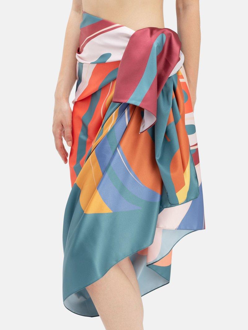 Sarong med eget mönster