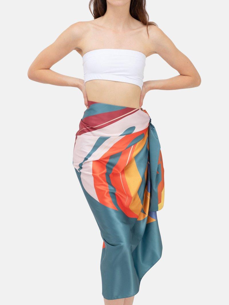 printed beach sarongs uk