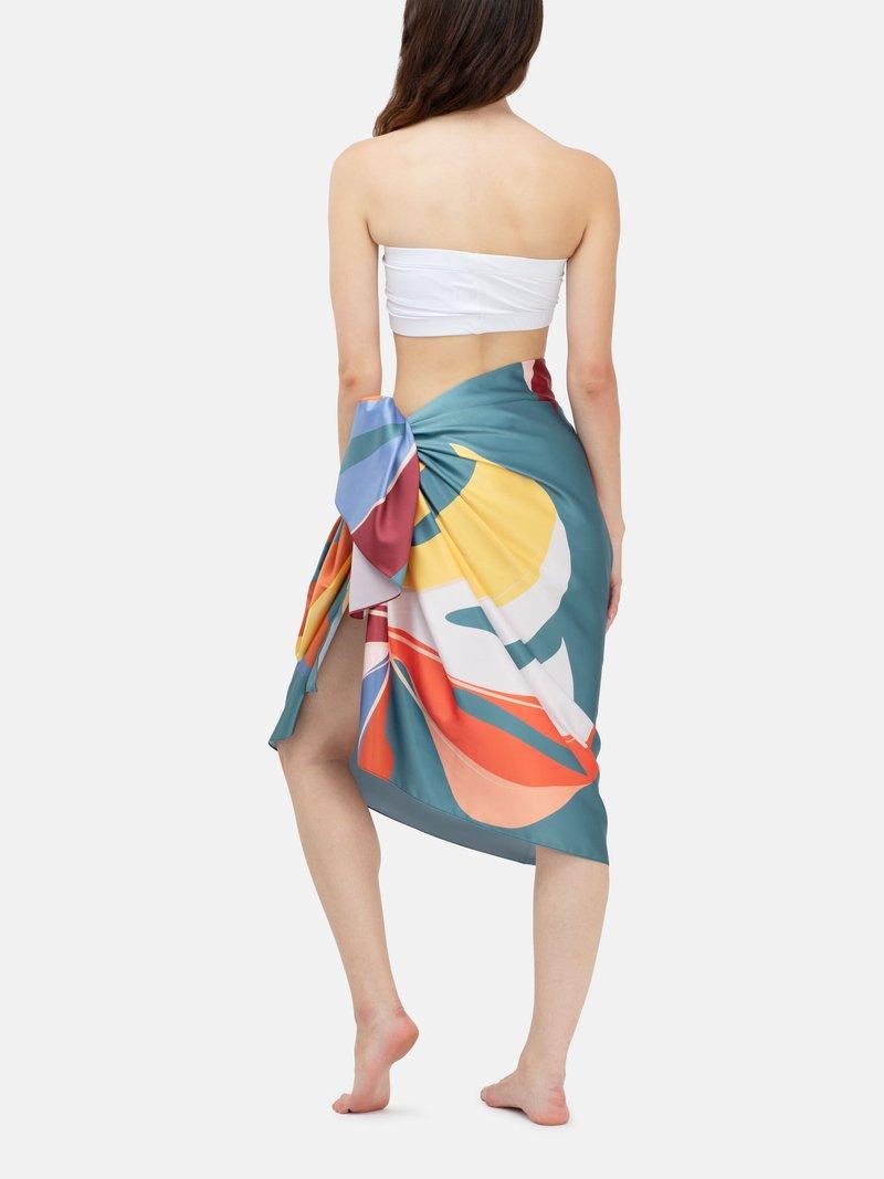 Textilval av personlig sarong