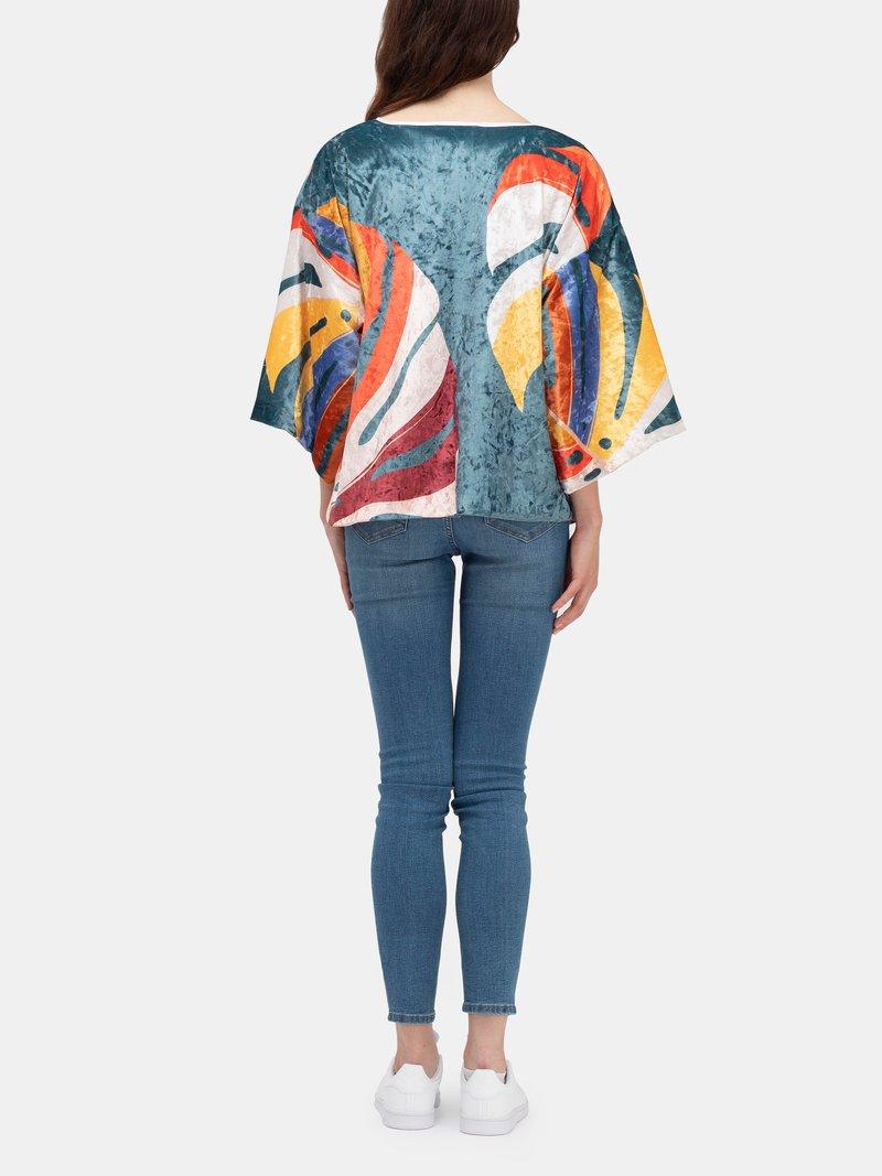 bunter kimono blazer