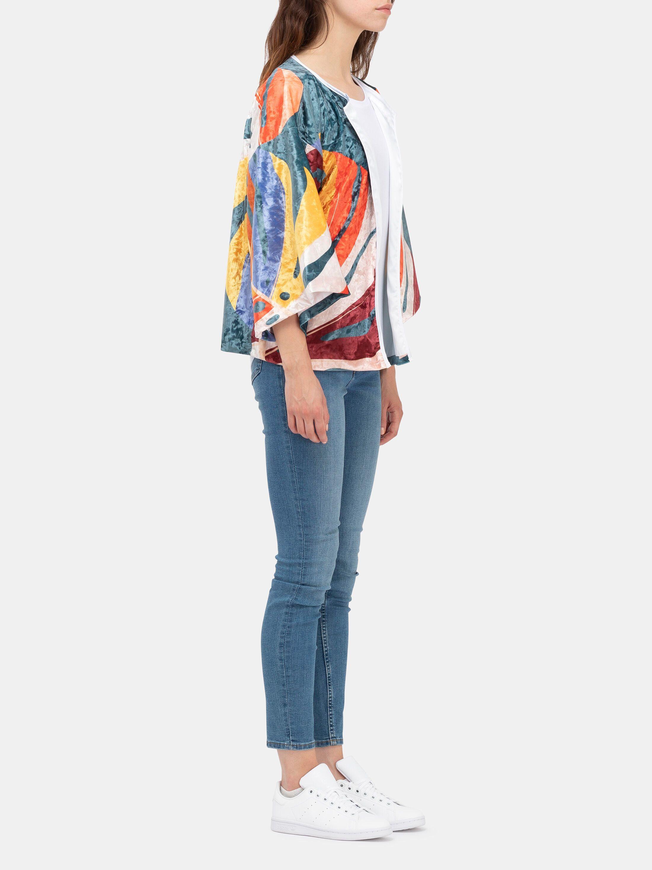 Kimono Blazer bedrucken