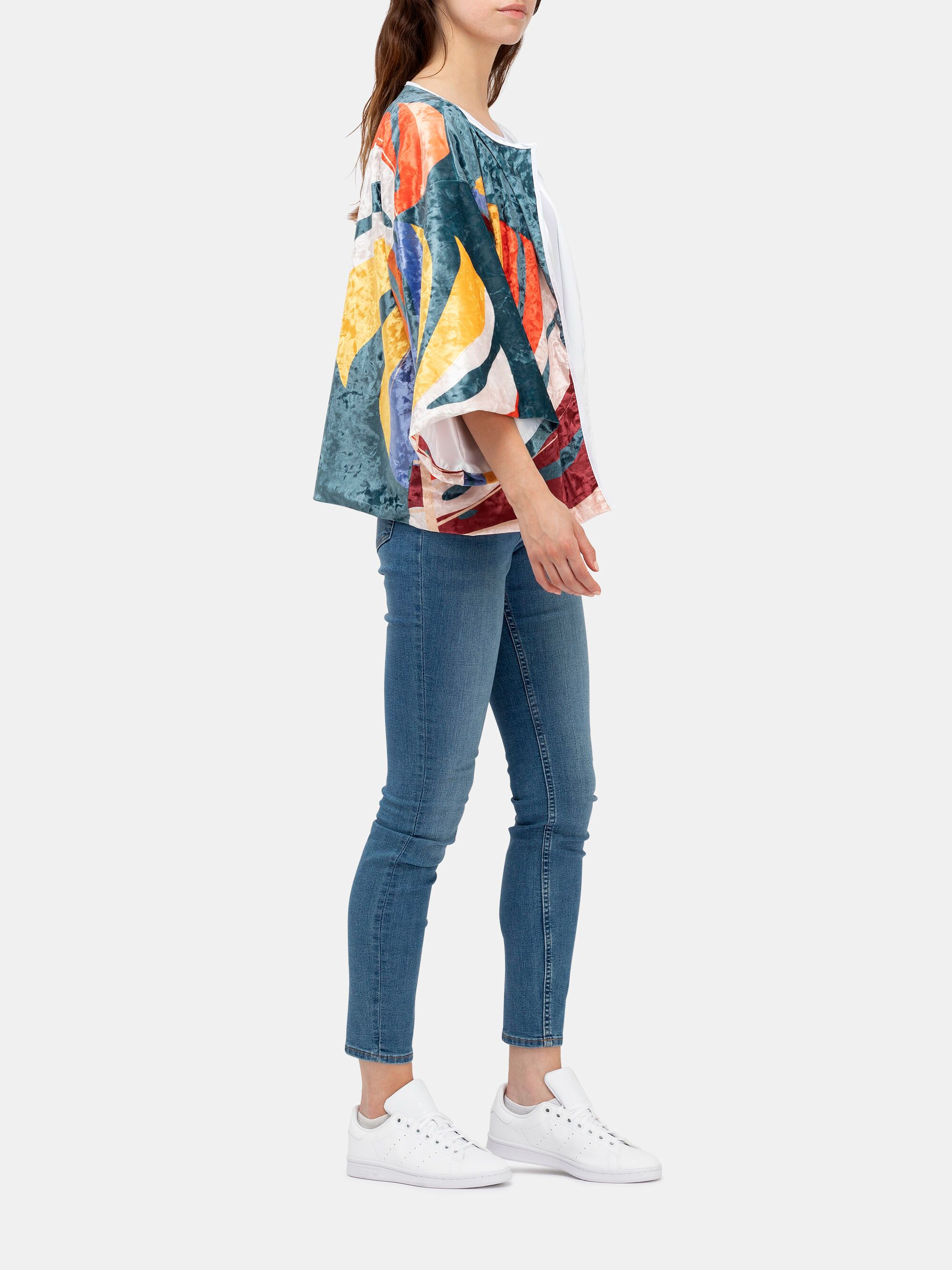 Kimonojacka med eget tryck