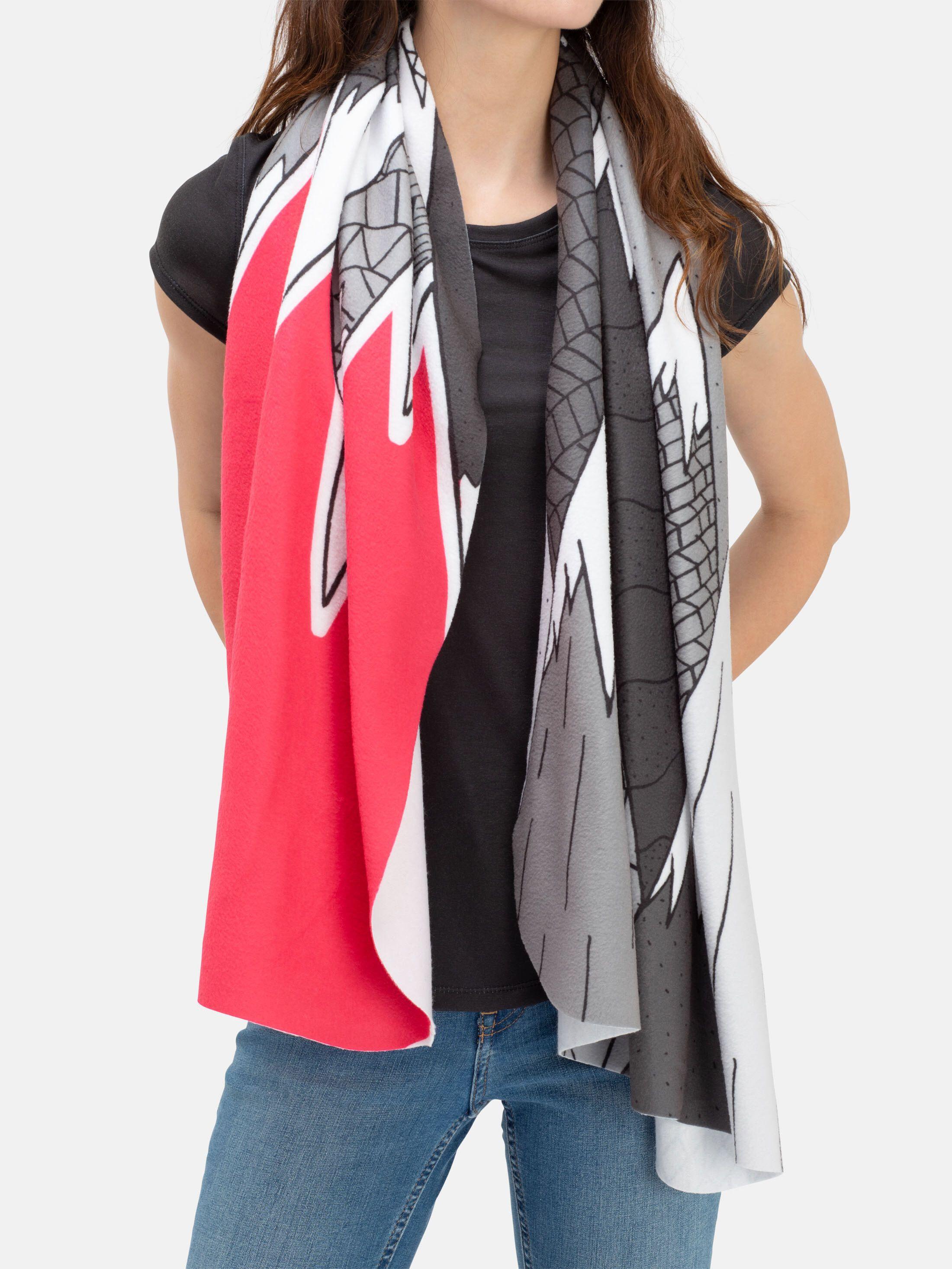 personalised blanket scarf pattern