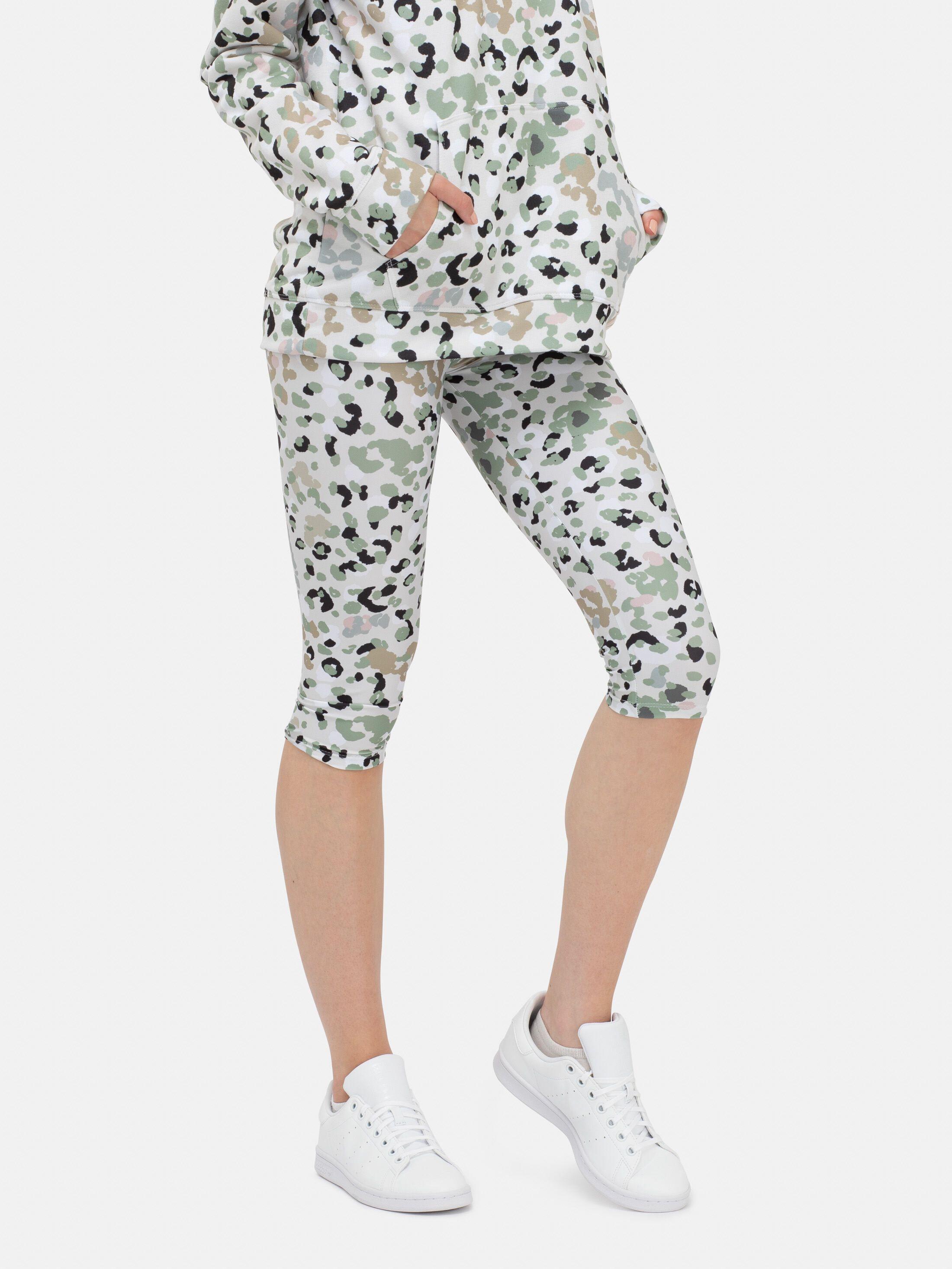 front back shot of personalised leggings