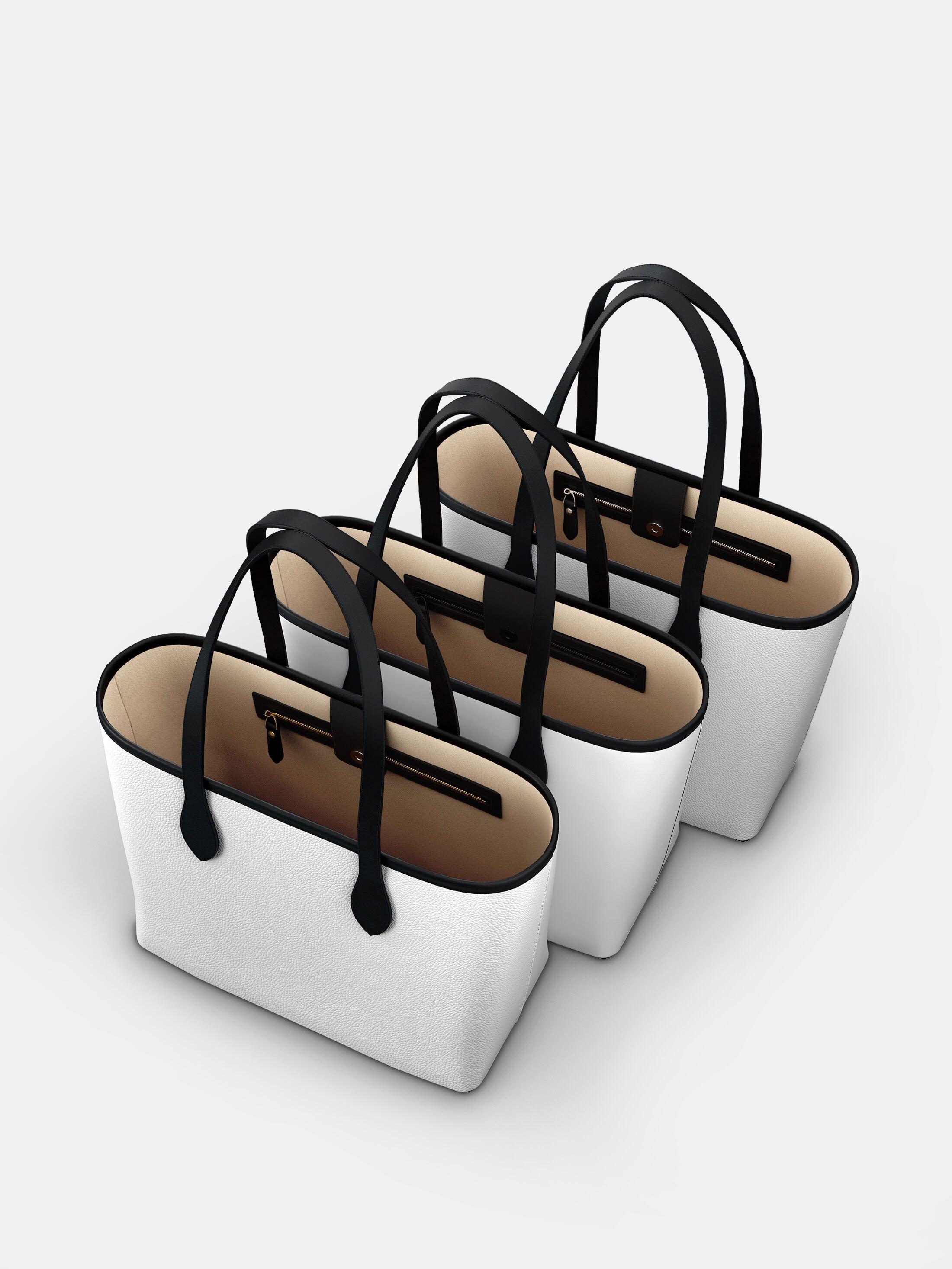 dettagli della borsa tote city personalizzata