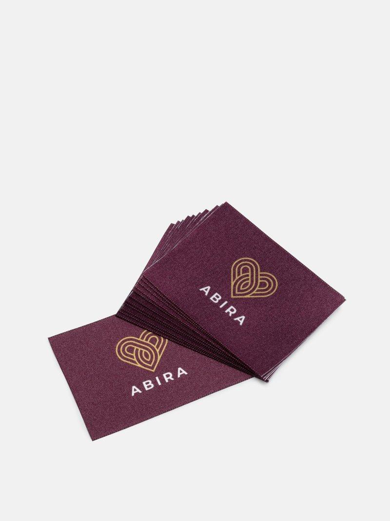 fabric logo labels