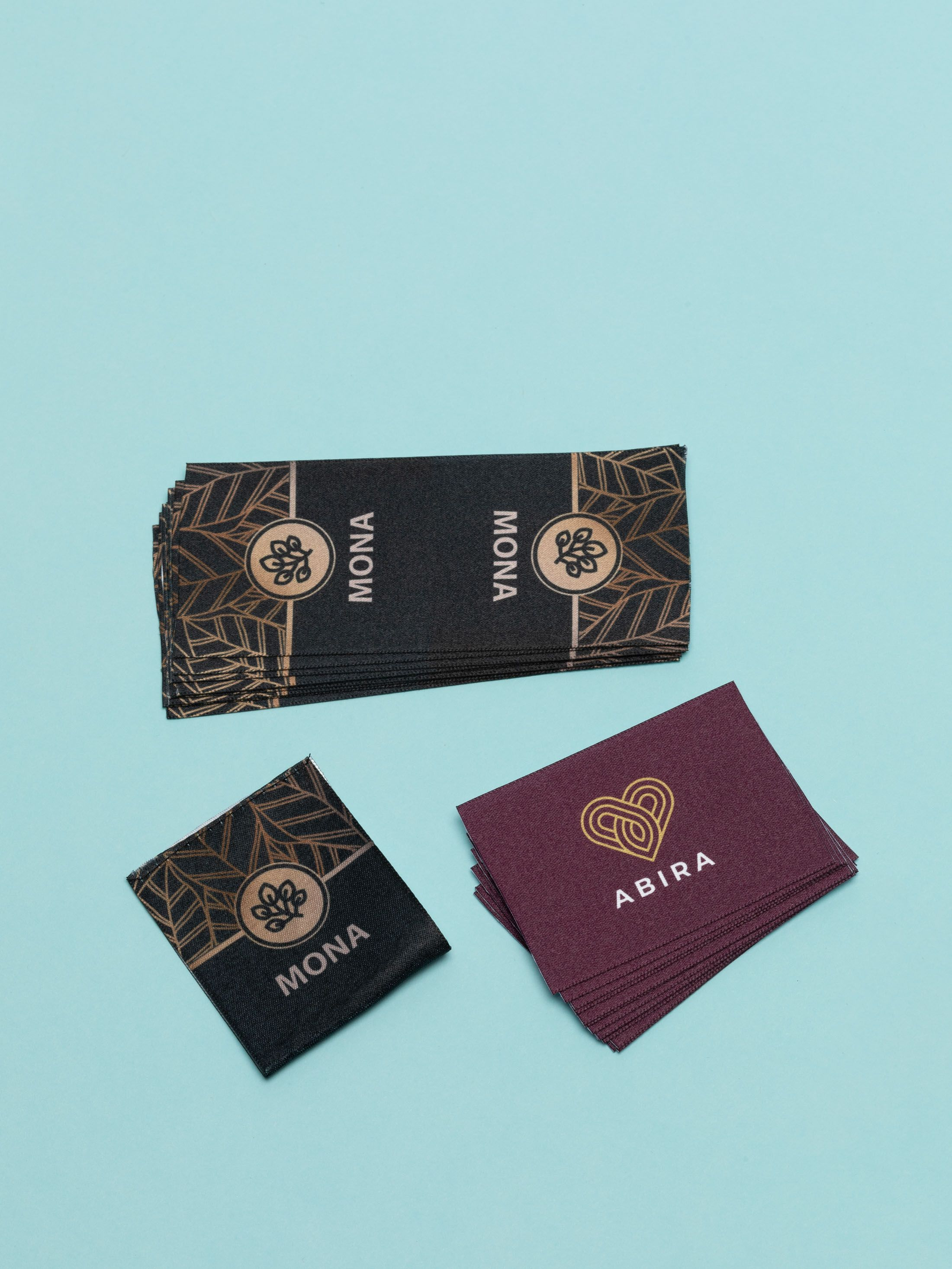 custom fabric logo labels