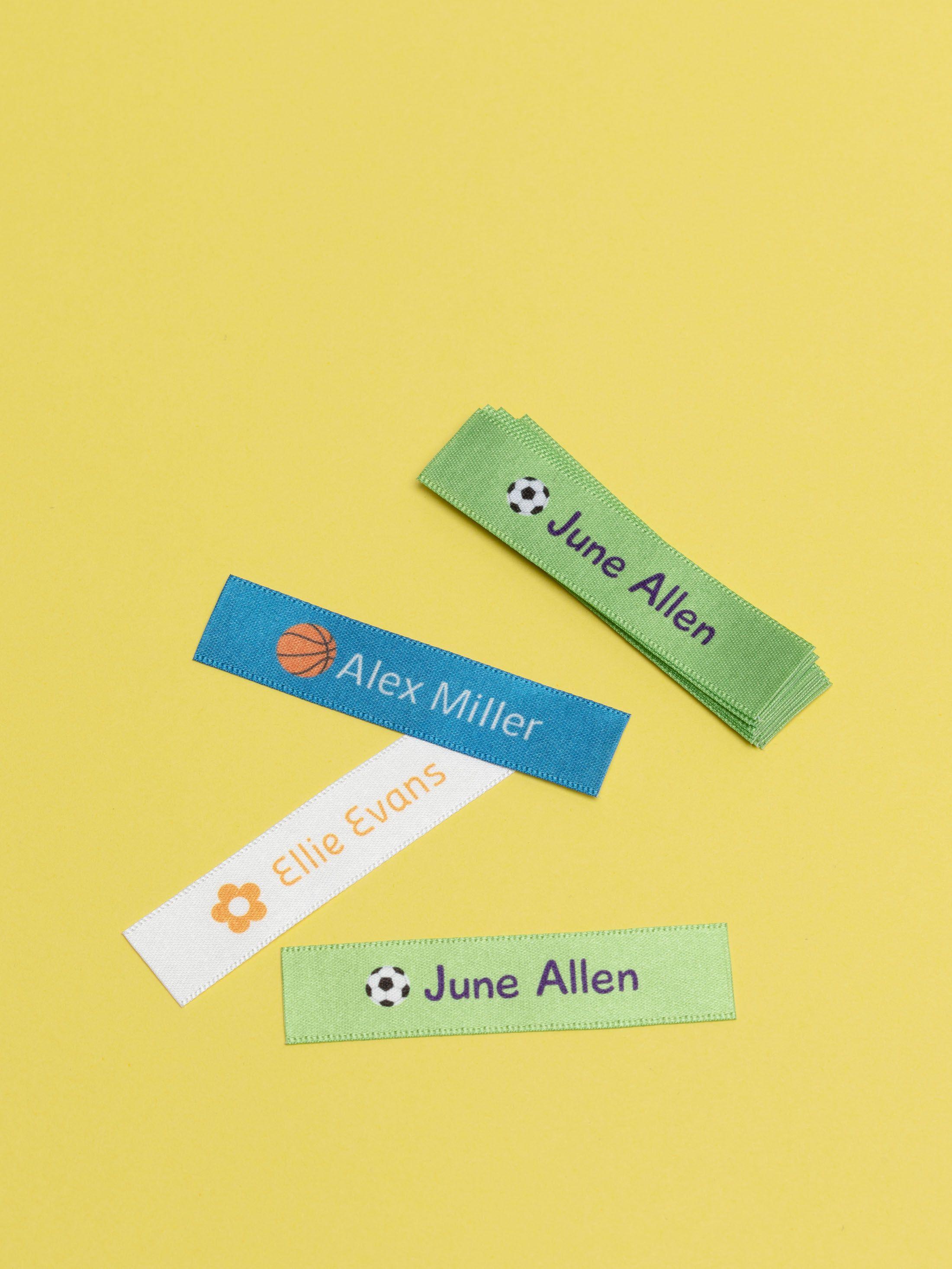 fabric name label