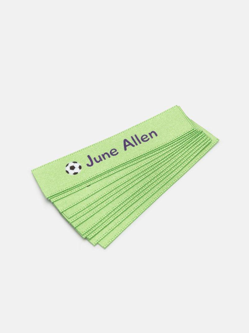 custom fabric name tags pack