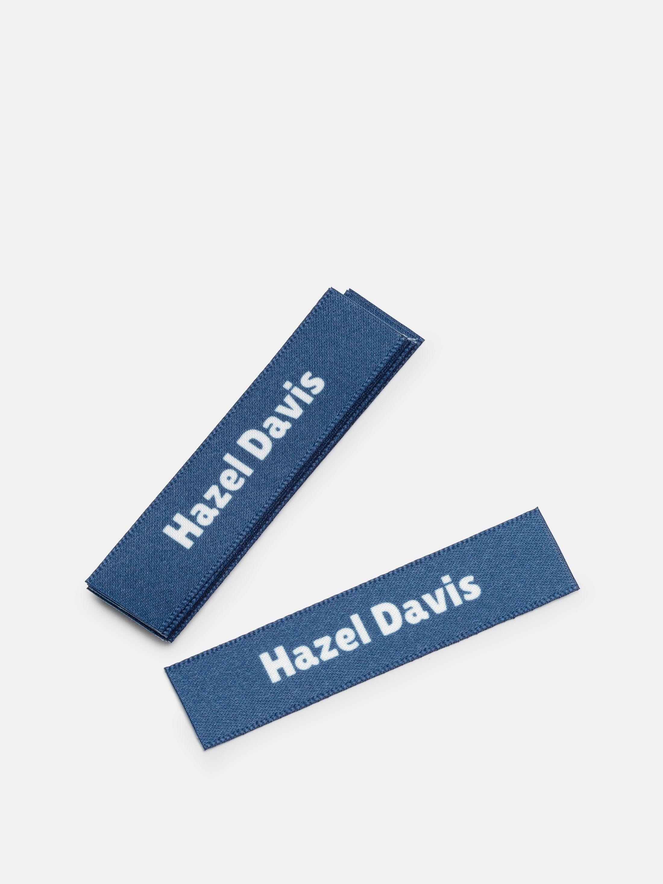 clothes labels for school uniform navy blue