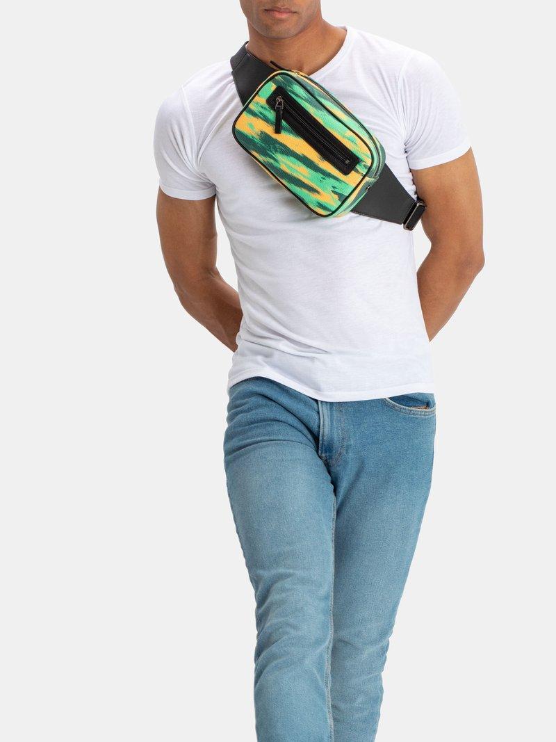design your own bum bag zips Sac ceinture personnalisé avec fermeture éclair