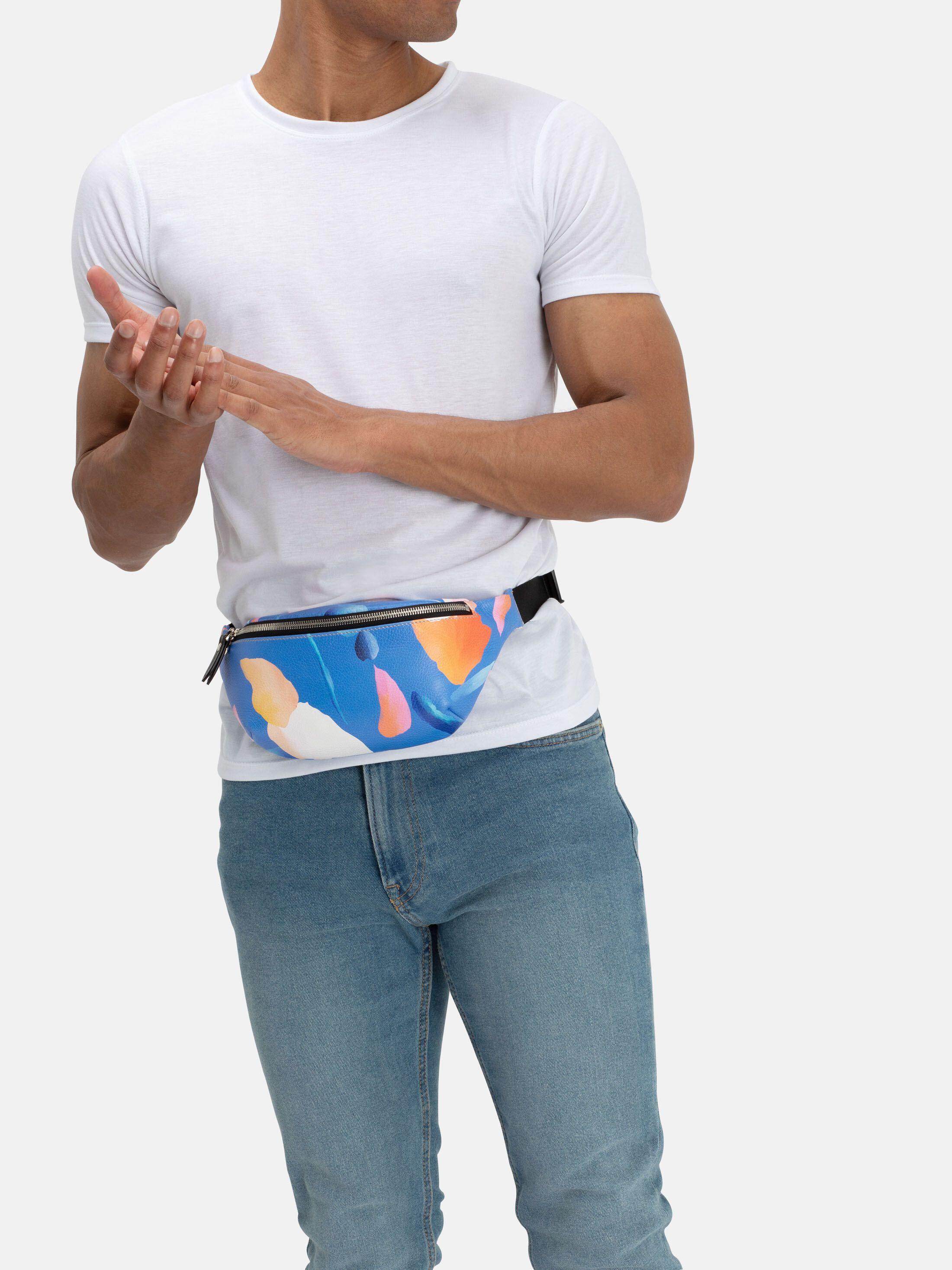 custom fanny pack zip