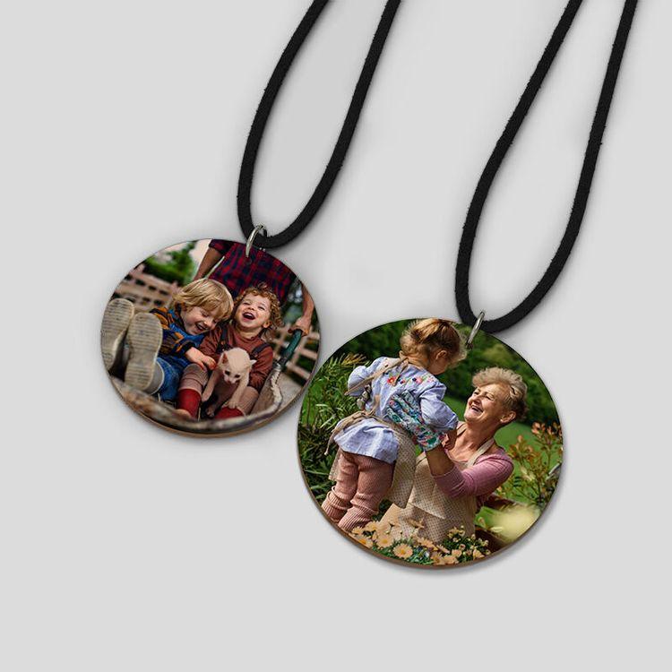 custom wood necklace